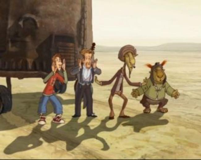 Мультфильм «Кин-дза-дза» выйдет на экраны в 2013 году