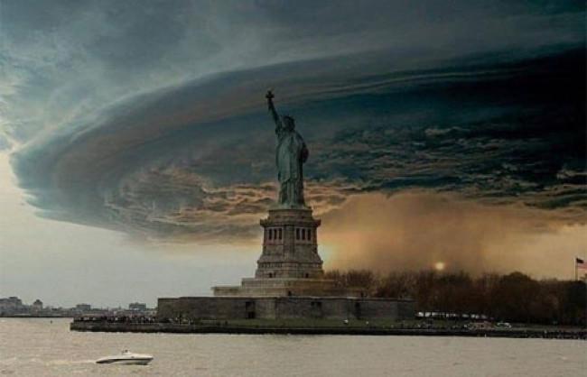 Ураган в Нью-Йорке