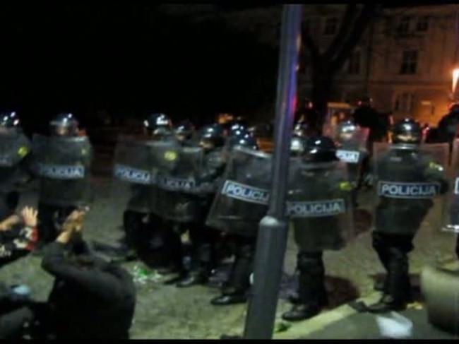 Беспорядки в Словении