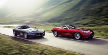 В Швейцарии создали копию  Jaguar E-Type