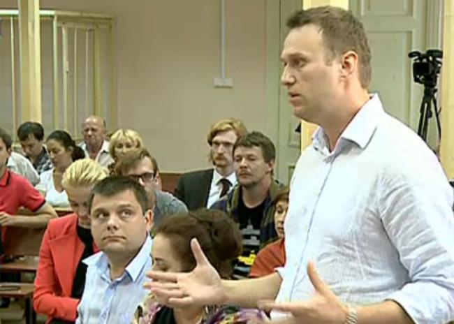 Алексей Навальный выступил с последним словом