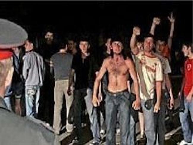 В Истре произошло столкновение местных жителей с кавказскими бандитами