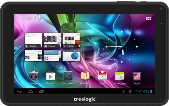 Доступный планшет от компании Treelogic