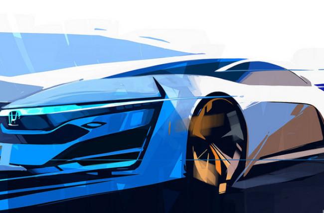 Honda представит в Лос-Андежелесе водородный концепт-кар