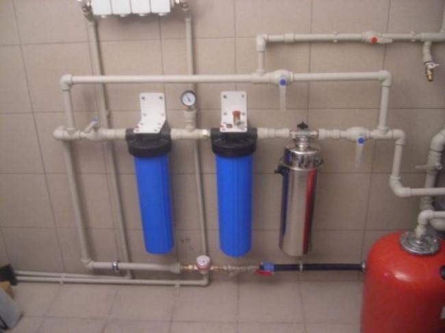 Очистка воды с помощью бытовых фильтров