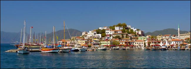 Средиземноморье Турции.