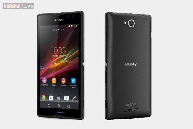 Компания Sony выпустила бюджетный смартфон Xperia C