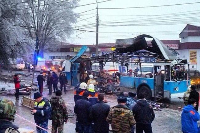 В Волгограде взорван тройлейбус