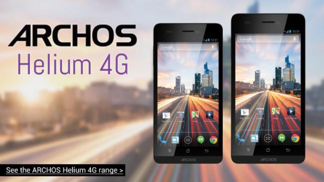 Компания Archos вышла на рынок смартфонов