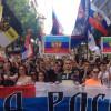 Шествие в Белграде в поддержку России