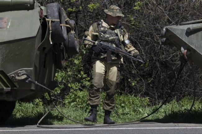 ОБСЕ требует от Украины остановить войсковую операцию в Славянске