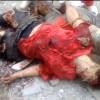 Последствие авиационного удара авиации хунты по Луганску