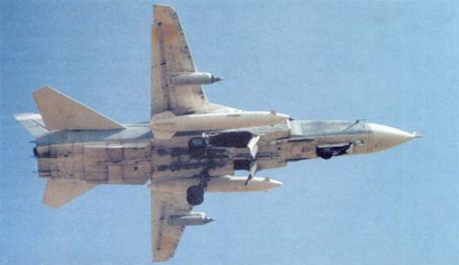 Под Горловкой сбит СУ-24