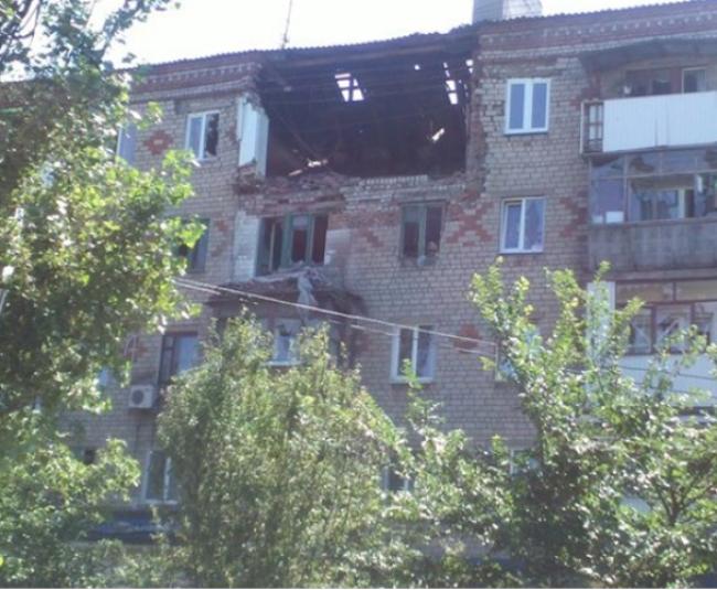 Киевские каратели обстреливают Горловку из Градов.  Многочисленные жертвы среди мирного населения.