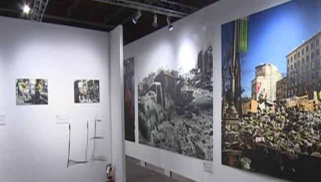 Украинские нацисты разгромили выставку в Нью-Йорке