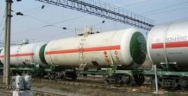 Харьковские партизаны взорвали цистерну с топливом для карателей