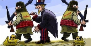 Проамериканские террористы обстреляли в Сирии российских военных
