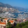 Княжество Монако на карте Европы