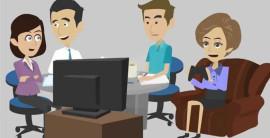 Высокие рейтинги анимационных рекламных роликов