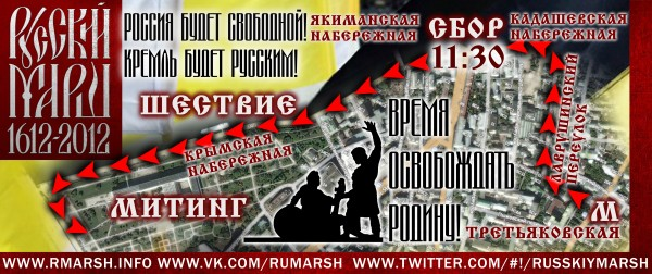 Маршрут русского марша