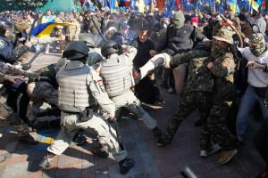 Украинские фашисты устроили штурм Верховной рады