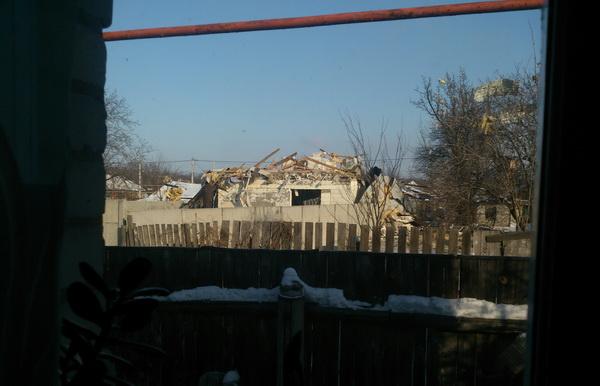 Результаты обстрела в Макеевке