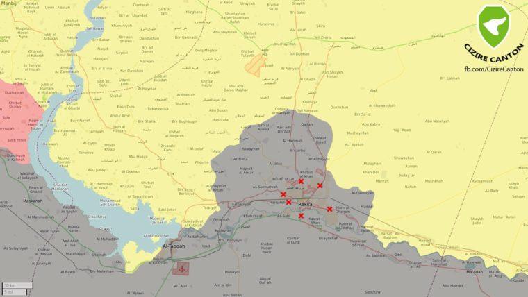 США пытается застолбить Ракку за собой