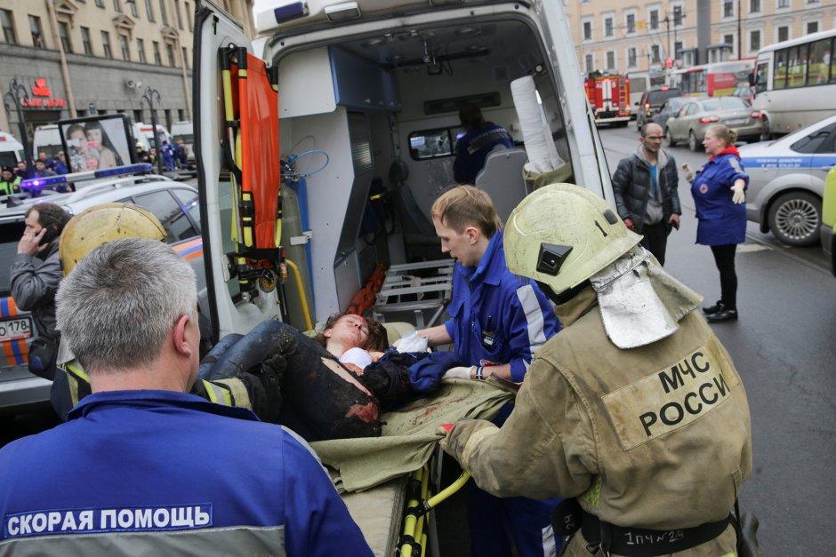 Теракт в питерском метро